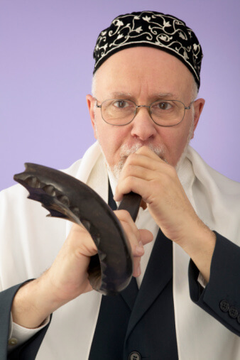 What Two Blessings do We Say before Sounding the Shofar?