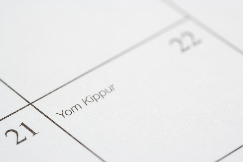 When is Yom Kippur?